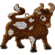 Набор для вышивания по дереву Золотой Бык