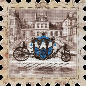 Набор для вышивки нитками Карета Новая Слобода (Нова слобода) КО4013 - 274.00грн.