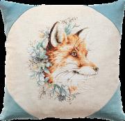 Набор подушки для вышивки крестом Лиса