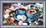Набор для вышивки бисером Кофе с ванилью
