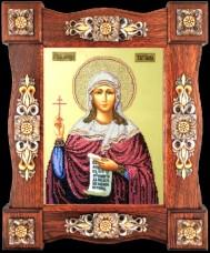Набор для вышивки бисером Св. Татиана Краса и творчiсть 31009