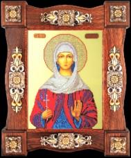 Набор для вышивки бисером Св. Наталия