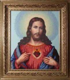Набор для вышивки бисером Иисус. Венчальная пара, , 598.00грн., 30409, Краса и творчiсть, Большие иконы