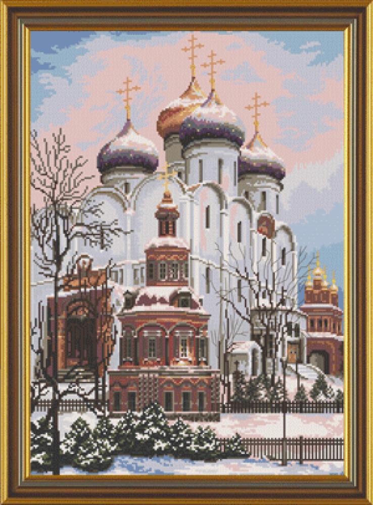 Вышивка крестом успенский собор