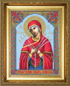 Пресвятая Богородица Семистрельная, , 194.00грн., 403, Чарiвна мить (Чаривна мить), Иконы