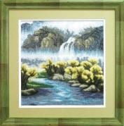 Набор для вышивки крестом Бурлящий водопад
