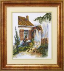 Набор для вышивки нитками Птичий двор Чарiвна мить (Чаривна мить) 483