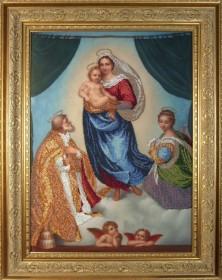 Набор для вышивки бисером Сикстинская Мадонна, , 802.00грн., 10610, Краса и творчiсть, Большие иконы