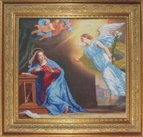 Набор для вышивки бисером Благовещение, , 572.00грн., 40810, Краса и творчiсть, Большие иконы