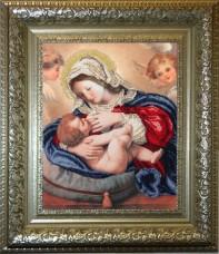 Набор для вышивки бисером Кормящая Мадонна Краса и творчiсть 30211