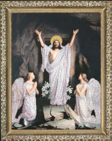 Набор для вышивки бисером Воскресение Господне, , 673.00грн., 10211, Краса и творчiсть, Большие иконы