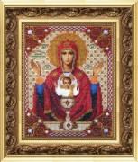 Набор для вышивки бисером Икона Богородица Неупиваемая Чаша