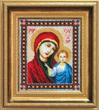 Икона Пресвятой Богородицы Казанская Чарiвна мить (Чаривна мить) №Б-035
