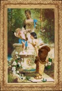 Набор для вышивки бисером У фонтана