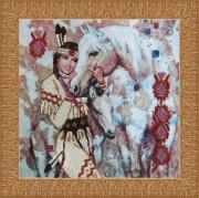 Набор для вышивки бисером Индианка