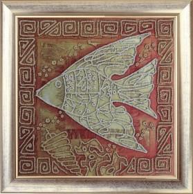 Набор вышивки бисером Символ УСПЕХ, , 237.00грн., 558Б, Баттерфляй (Butterfly), Схемы и наборы для вышивки бисером по Фен шуй