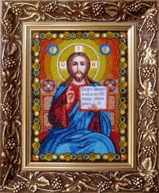 Иисус Христос Господь Вседержитель. Венчальная пара Новая Слобода (Нова слобода) СК-9001 - 440.00грн.