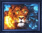 Набор для вышивки бисером Царь зверей