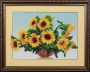 Набор для вышивки бисером Солнечные цветы