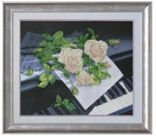 Набор для вышивки бисером Признание в любви Краса и творчiсть 10312