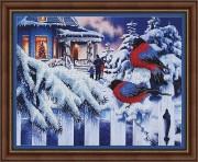 Набор для вышивки бисером Вестники зимы