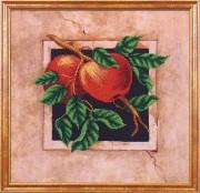Набор для вышивки бисером Наш сад. Яблоки