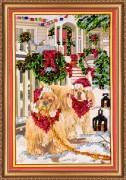 Набор для вышивки бисером Рождественское утро