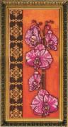 Набор для вышивки бисером Орхидеи - 1