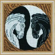 Набор для вышивки бисером Инь и Янь