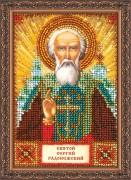 Набор для вышивки бисером Святой Сергей