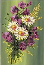 Рисунок на ткани для вышивки бисером Букет з дзвіночками Княгиня Ольга СКМ-38