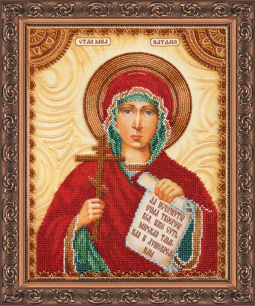 Вышивка бисером святая наталья