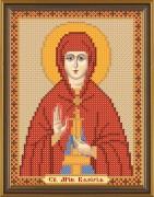 Рисунок на ткани для вышивки бисером Святая Карелия (Валерия)