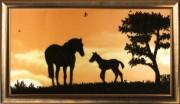 Набор для вышивки бисером Лошади