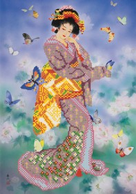 Рисунок на ткани для вышивки бисером Восточная красавица Марiчка (Маричка) РКП-058 - 88.00грн.