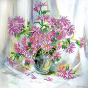 Рисунок для вышивки бисером Хризантемки