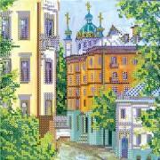Рисунок для вышивки бисером Городок