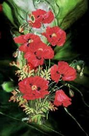 Схема вышивки бисером на атласе Маки Княгиня Ольга СКВ-36 - 65.00грн.
