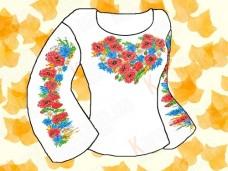 Заготовка для вышивки сорочки Каролинка КБСК-03