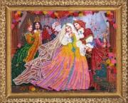 Набор для вышивки бисером Принц и принцесса