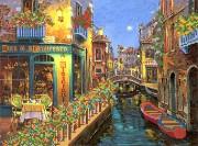Рисунок на ткани для вышивки бисером Ночная Венеция