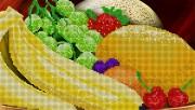 Рисунок на ткани вышивки бисером Фруктовый десерт