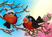 Рисунок на ткани для вышивки бисером Песня любви