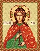 Рисунок на ткани для вышивки иконы Святая Иулия (Юлия)