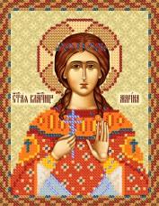 Рисунок на ткани для вышивки бисером Святая Марина Марiчка (Маричка) РИП-5129