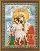 Рисунок на ткани для вышивки бисером Божья Матерь Достойно Есть