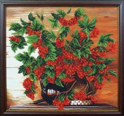 Набор для вышивки бисером Калина красная