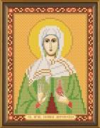 Рисунок на ткани для вышивки бисером Святая Иоанна (Яна, Жанна)