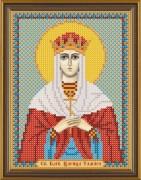 Рисунок на ткани для вышивки бисером Святая Царица Тамара