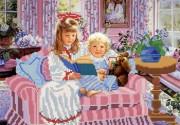 Рисунок на ткани для вышивки бисером Сказки на ночь